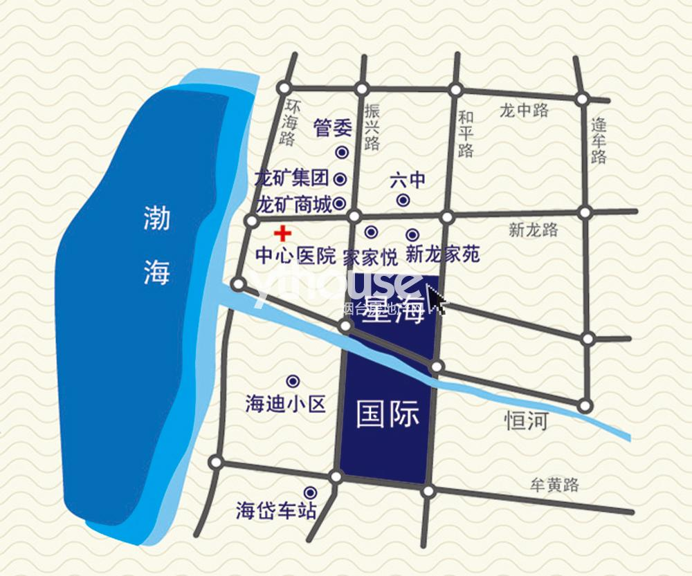 葫芦岛兴城市星海北地图