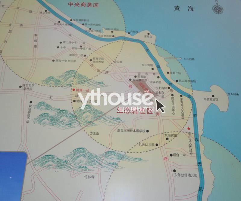 烟台房地产网  新房首页 莱山区 >观海路8号  观海路8号区域图